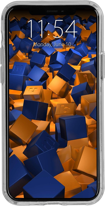 negro con rayas rojas mumbi Funda compatible con iPhone 11 Funda para tel/éfono m/óvil