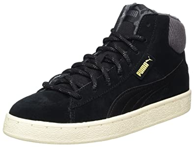 Puma 1948 Mid L, Baskets Hautes Mixte Adulte, Noir (Black-White), 43 EU
