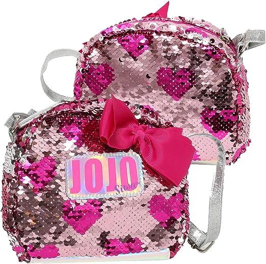 Nickelodeon JoJo Siwa Grey Bow Crossbody Bag for Girls