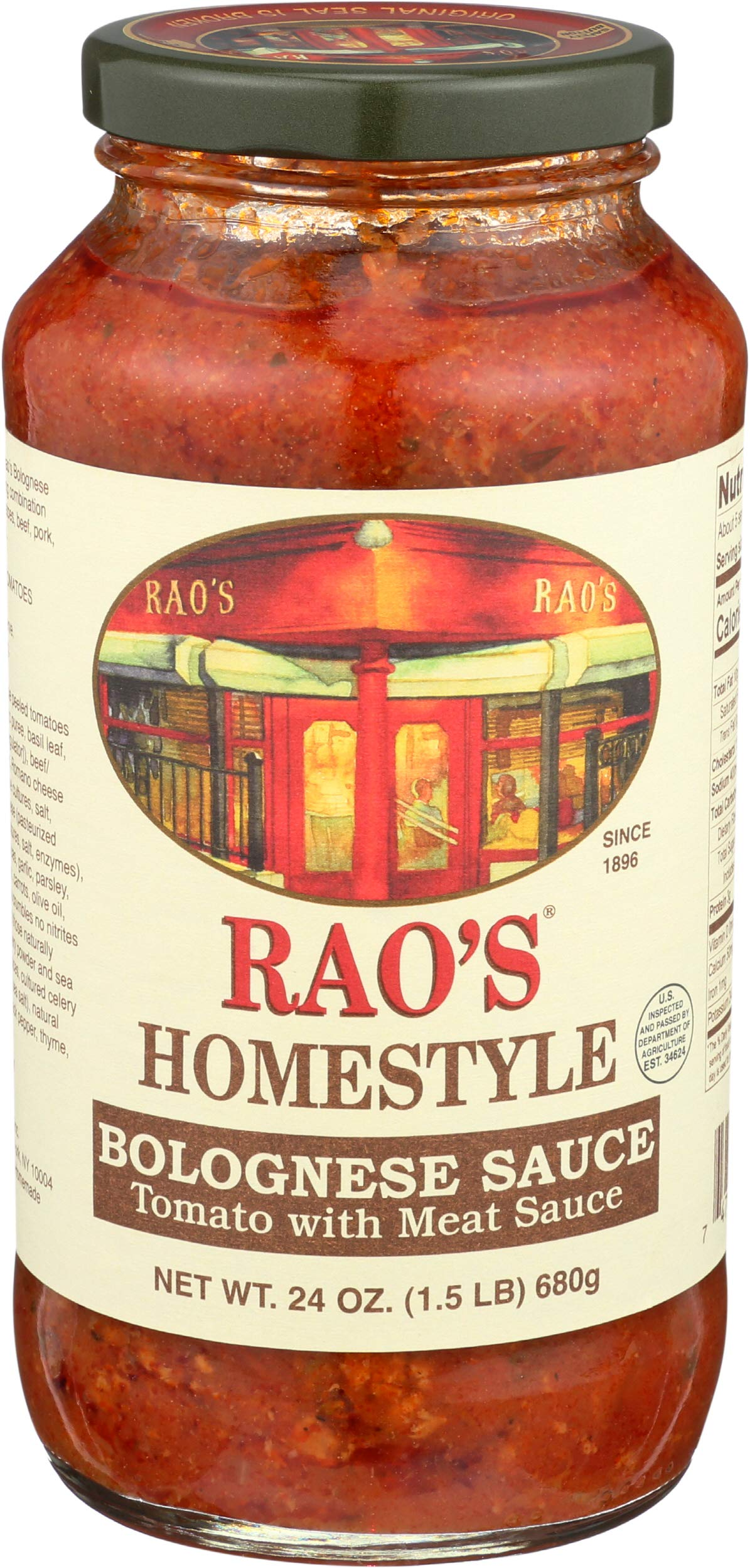 Rao's Homestyle Bolognese Pasta Sauce 24 oz