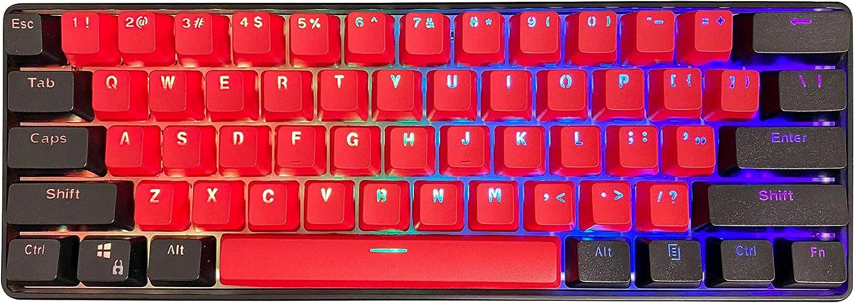 Kraken Pro 60 BRED Edition 60% Mechanical Gaming Keyboard