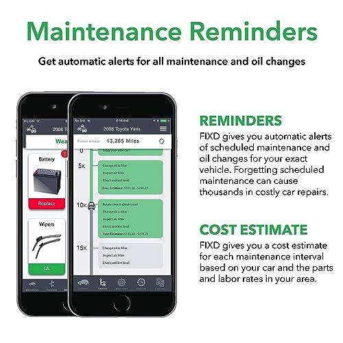 FIXD bluetooth obd2 car health monitor