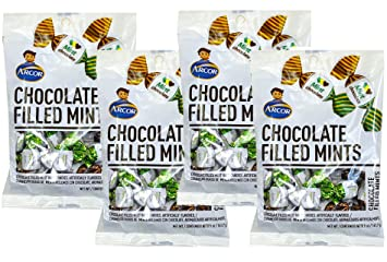 SweetGourmet Arcor Chocolate Filled Mint (Pack of 12 X 5oz): Amazon.com: Grocery & Gourmet Food