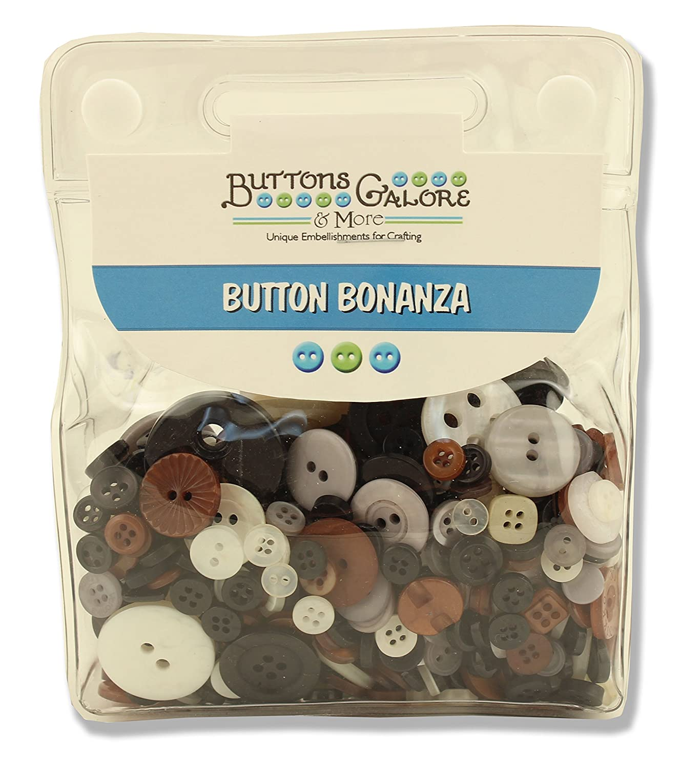 Buttons Galore Party Supplies, Orange, 6 Each Buttons Galore Inc BB17