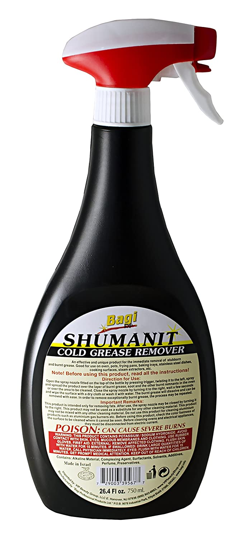 Amazon.com: Bagi shumanit – frío grasa removedor. Spray para ...