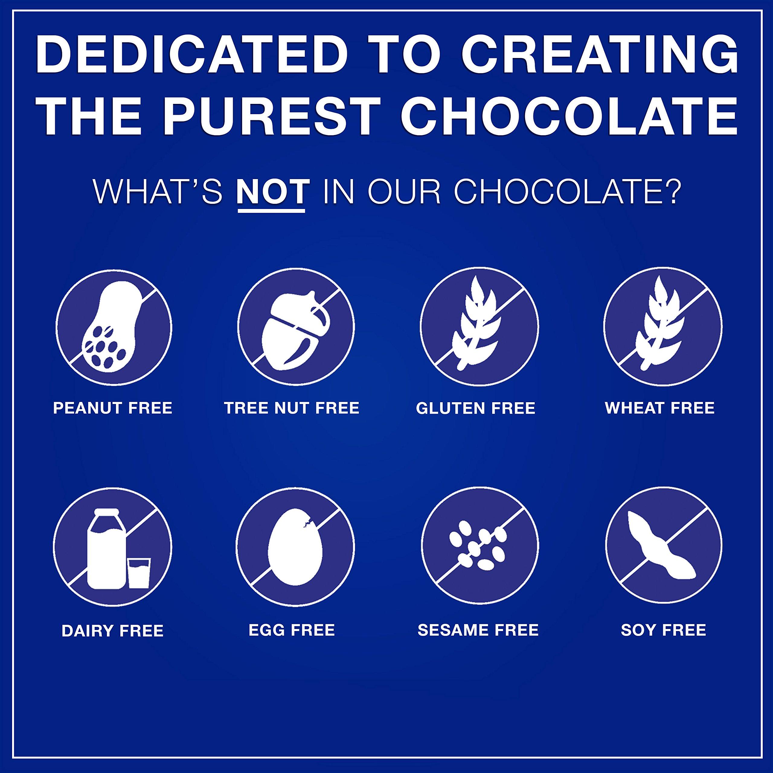 Pascha Bulk Organic Unsweetened 100% Dark Chocolate Baking Chips, 10 Pound by Pascha (Image #3)