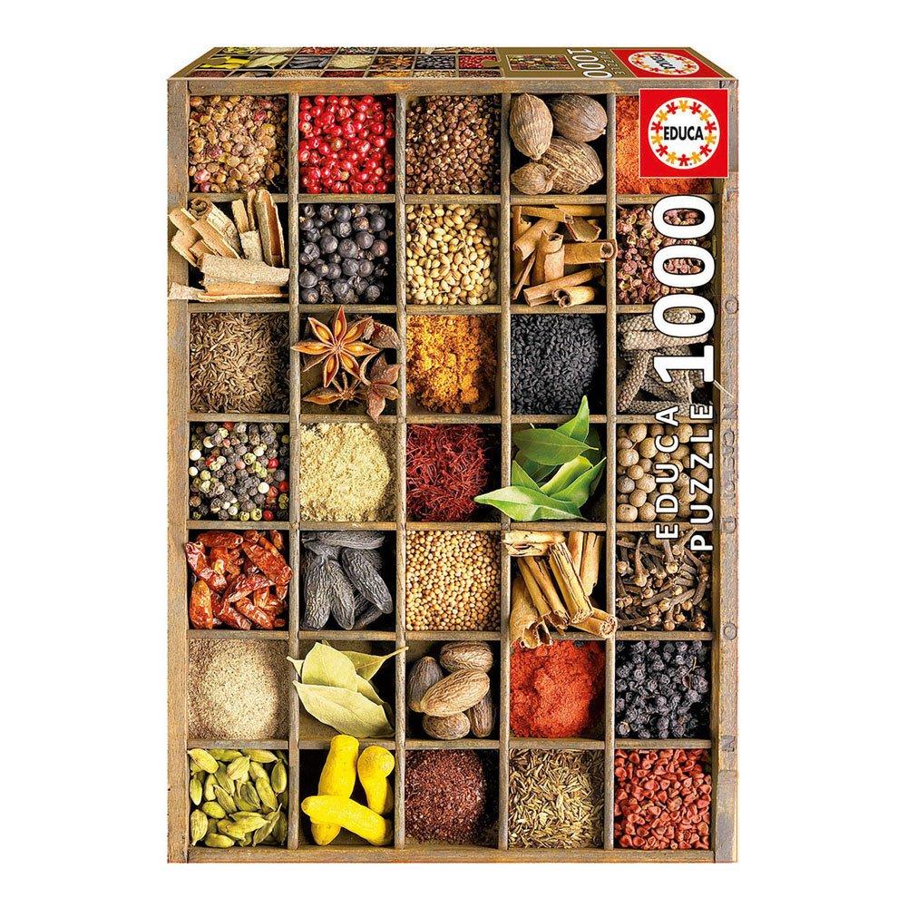 Puzzles Educa - Especias, puzzle de 1000 piezas (15524): Amazon.es ...