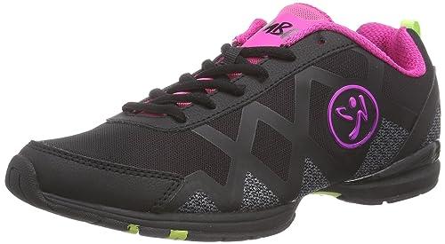 Zumba Footwear Zumba Flex II Remix, Zapatillas de Gimnasia para Mujer, Negro Black, 35.5 EU: Amazon.es: Zapatos y complementos