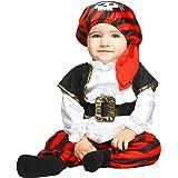 My Other Me Me-203818 Disfraz de pequeño pirata para niño 1-2 años Viving Costumes 203818