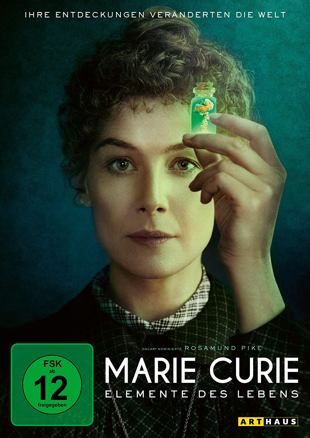 Cover: Marie Curie  1 DVD (circa 105 min + Extras)
