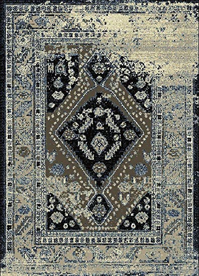 Safavieh Montauk Collection MTK716A Handmade Flatweave Ivory and Grey Cotton Area Rug 9 x 12