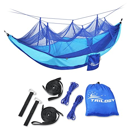 Sensible Portable High Strength Parachute Fabric Camping Hammock Hanging Bed With Mosquito Net Sleeping Hammock Camping & Hiking Camp Sleeping Gear