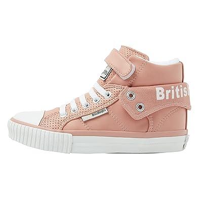 British Knights Mädchen Sneaker Salmon/White 42 C EU, Salmon/White - Größe: 42 C EU