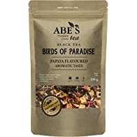 Abe's Tea | Zwarte Losse thee, Paradigsvogel 100 gr. - Vanille en rood fruit