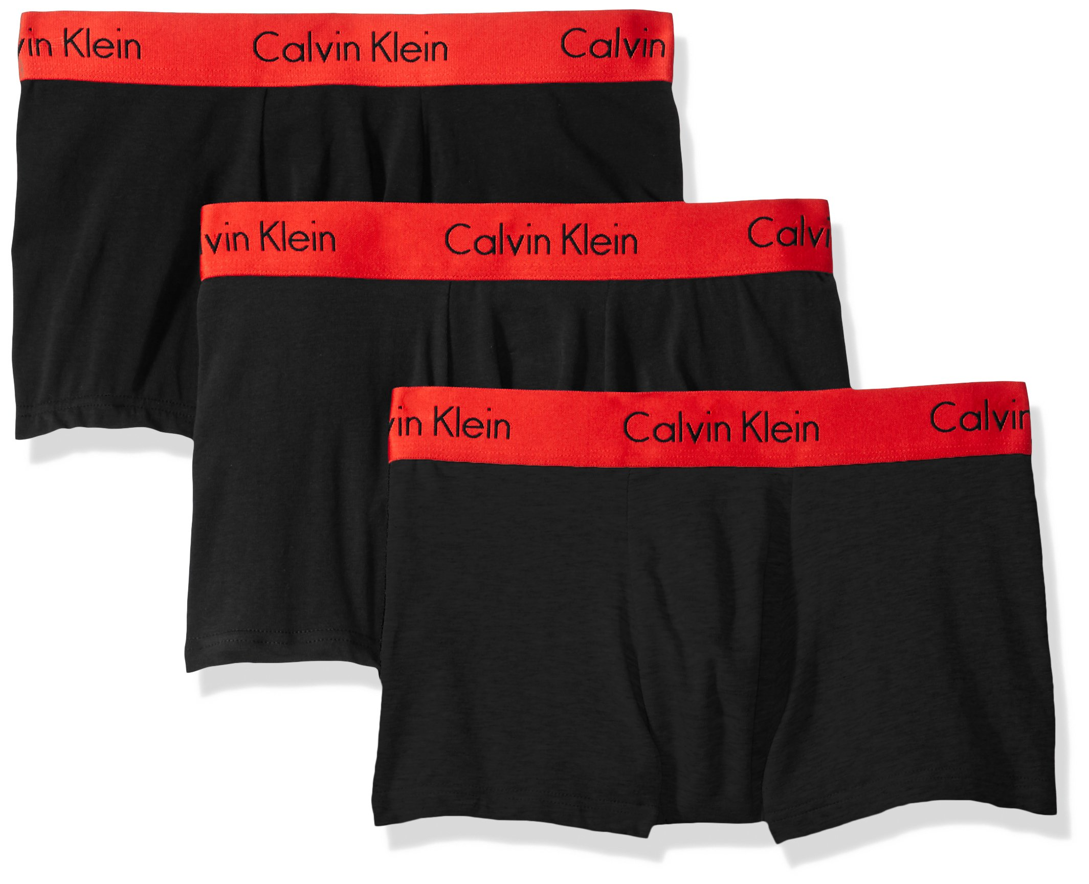 Calvin Klein Men's Underwear Pro Stretch Trunks, Black, Large