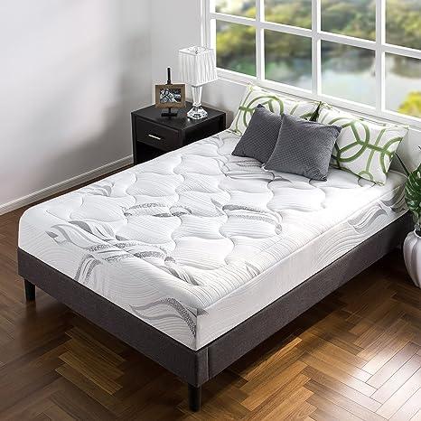 Amazon Com Zinus 10 Inch Cloud Memory Foam Mattress Pressure Relieving Bed In A Box Certipur Us Certified King Furniture Decor