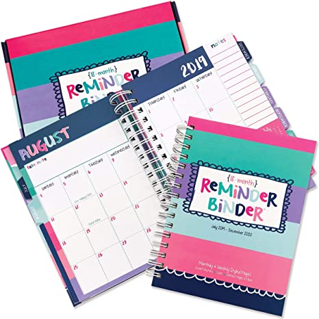 Calendario Gaf 2020.Rb Planners 000 Stripes July 2019 Dec 2020 18 Month