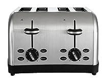 5. Oster 4-Slice Toaster, Brushed Metal (TSSTTRWF4S-SHP)