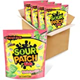 SOUR PATCH KIDS Watermelon Soft & Chewy Candy, Easter Candy, Family Size, 4 - 1.8 lb Bags
