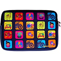 Intelligent Idiots Neoprene Material 15.6 inch Laptop Sleeve by Intelligent Idiots with IndianTheme|(29 X 41 X 2.5 cms)