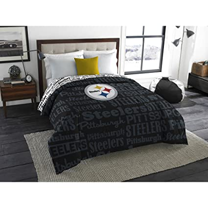 Beau NFL Pittsburgh Steelers Bedding Set, Twin
