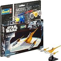 Revell- R2D2 Star Wars Set Naboo Starfighter, en