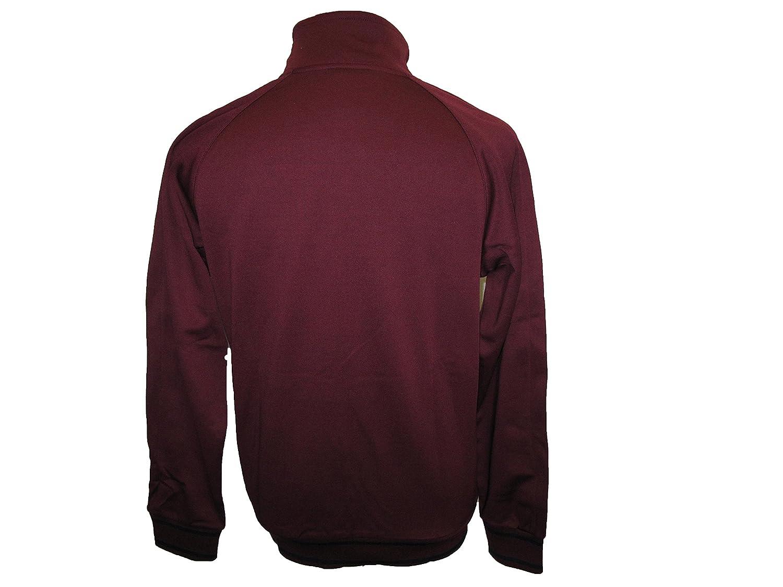FC Barcelona Nike N98 poliéster chaqueta de chándal zip retro Borgoña  396649-683 Rojo rojo 2518d502e10