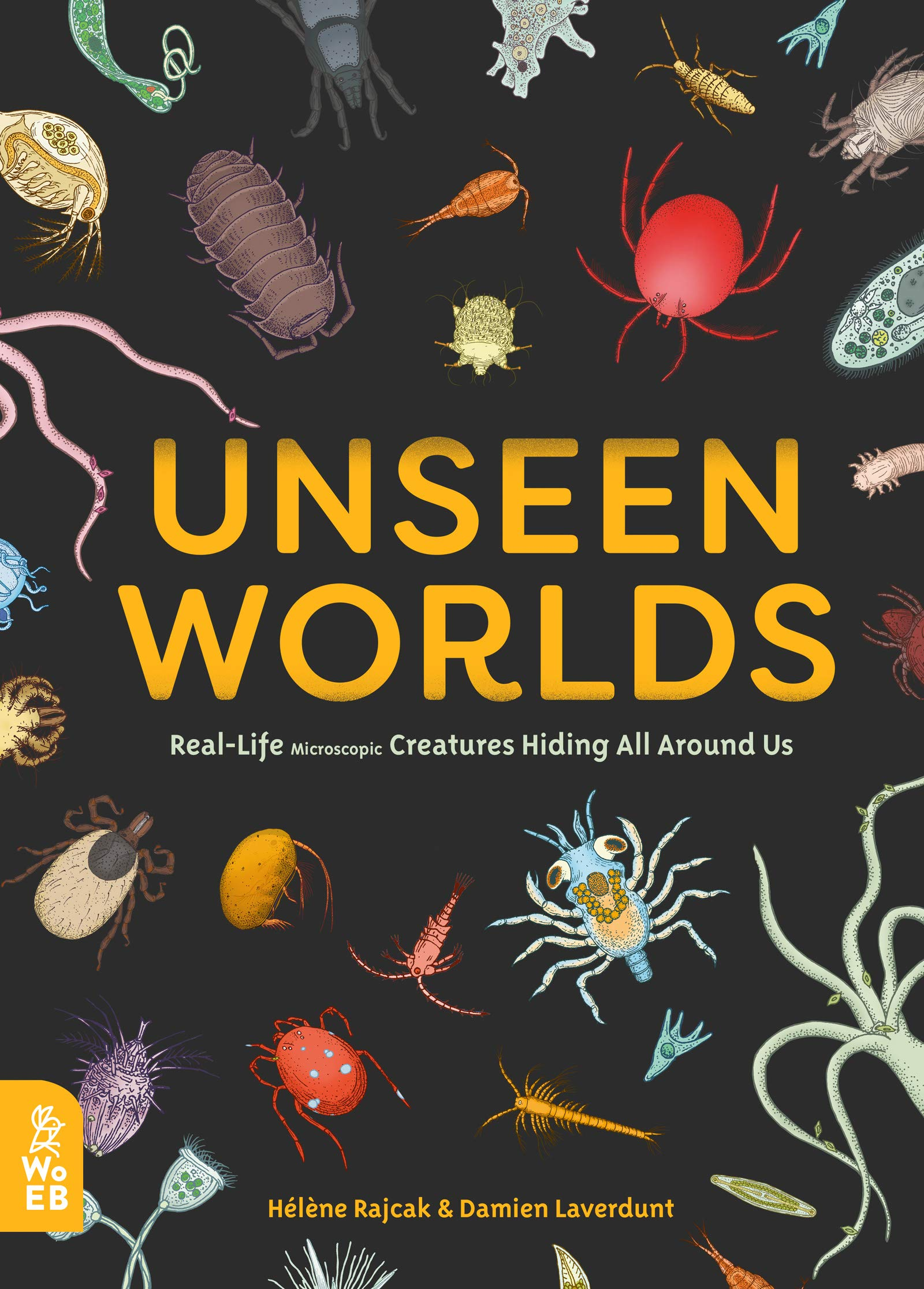 Image result for unseen worlds real-life microscopic creatures hiding all around us
