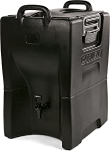 Carlisle IT100003 Cateraide IT Insulated Beverage Server / Dispenser, 10 Gallon, Onyx