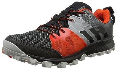 detailed look 59c44 1a46b adidas Kanadia 8.1 Trail, Chaussures de Running Entrainement Homme, Noir  Core Black Energy