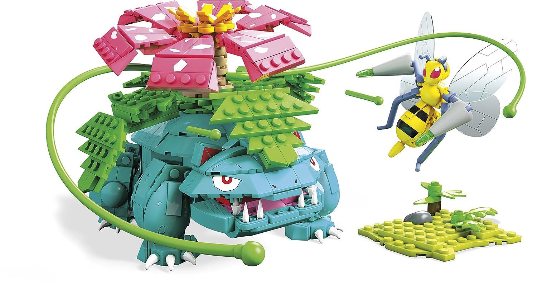 Mega Construx Pokemon Venesaur Vs. Beedrill Duel Building Set Fisher Price / Mattel Canada FVK76