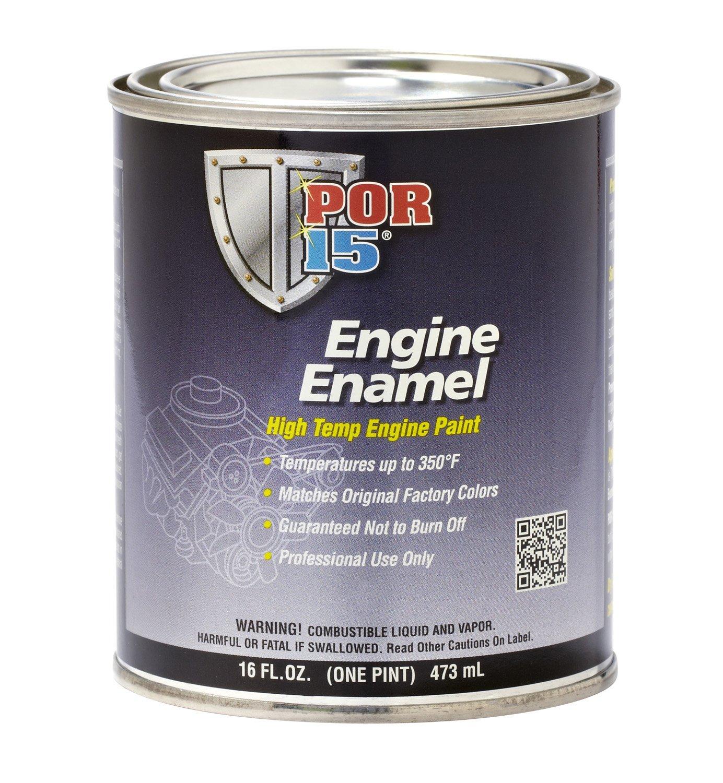 POR-15 42034 Black Engine Enamel - 1 quart by POR-15