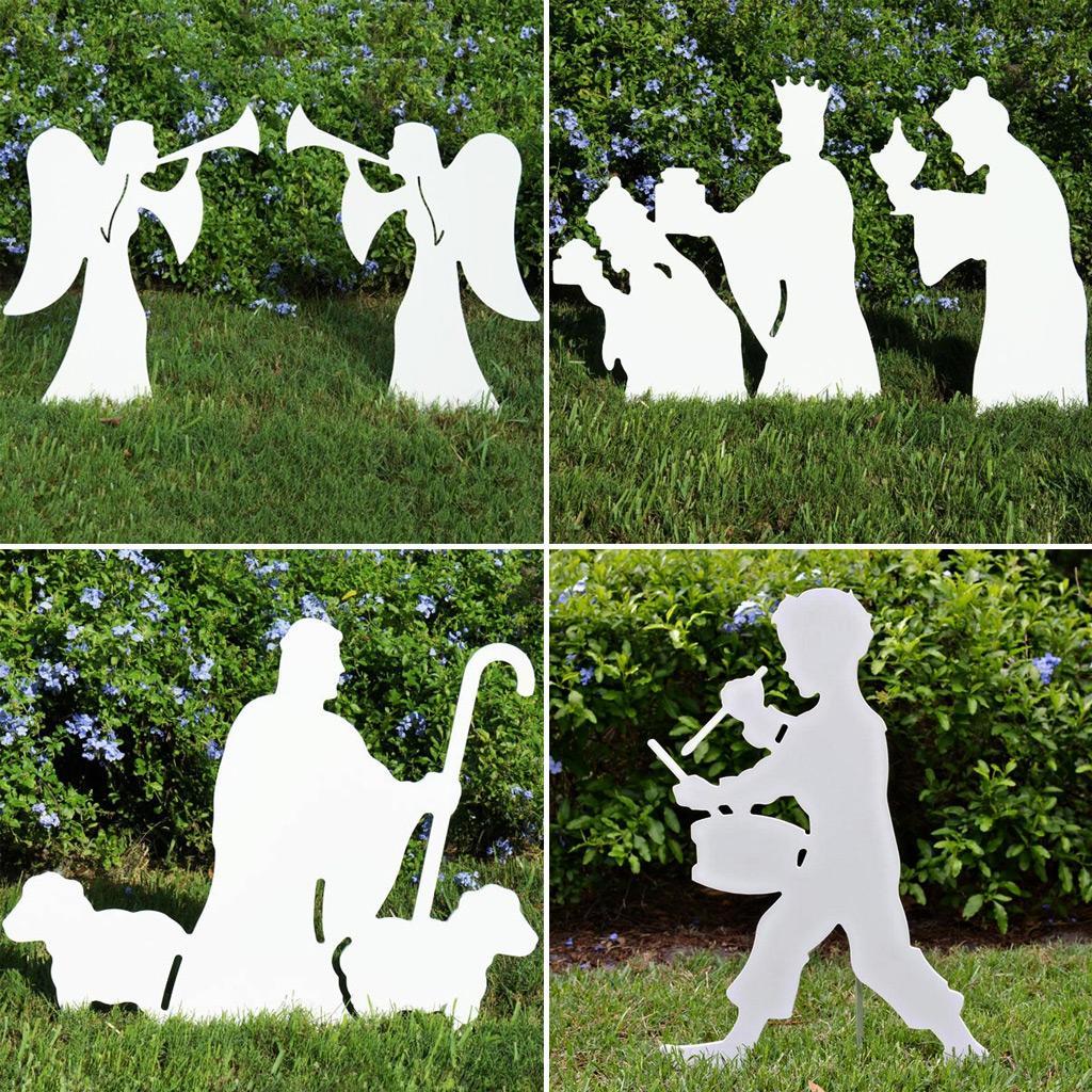Amazon.com: Teak Isle Christmas Outdoor Nativity Set, Yard ...