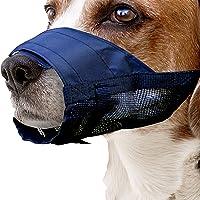 Pawise Nylon Dog Adjustable Muzzle, Medium
