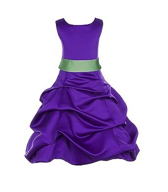 8839760f028 ekidsbridal Wedding Pageant Cadbury Regency Purple Flower Girl Dress  Bridemaid 806s 12