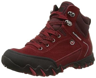 59e37a830d6c13 Mephisto Nigata, Chaussures de Randonnée Hautes femme, Rot (BLACK/MID RED)