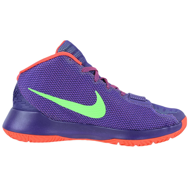Amazon.com | nike KD Trey III mens hi top basketball trainers 749377  sneakers shoes (UK 9 us 10 EU 44, court purple green streak bright crimson  536) ...