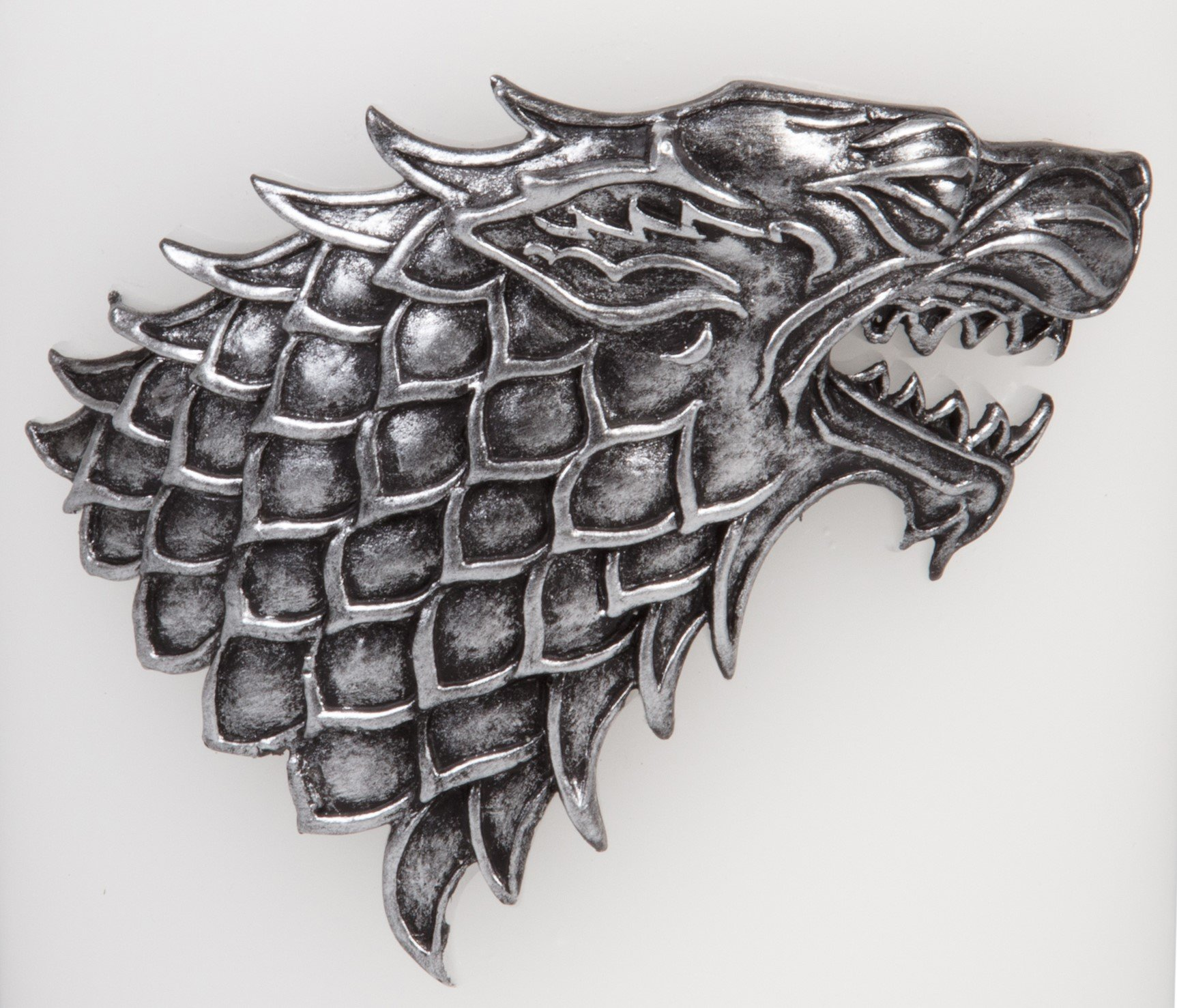 Game of Thrones Candle - Large House Stark Insignia Sculpted Pillar Candle - Perfect for GoT Fans - Unscented - 8''h by Game of Thrones (Image #3)