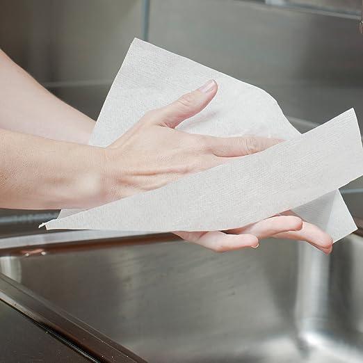 SCOTT* Airflex* Toallas Secamanos Multifold 1804 - 250 toallas de color blanco y 1 capa por paquete (caja con 16 paquetes): Amazon.es: Industria, ...
