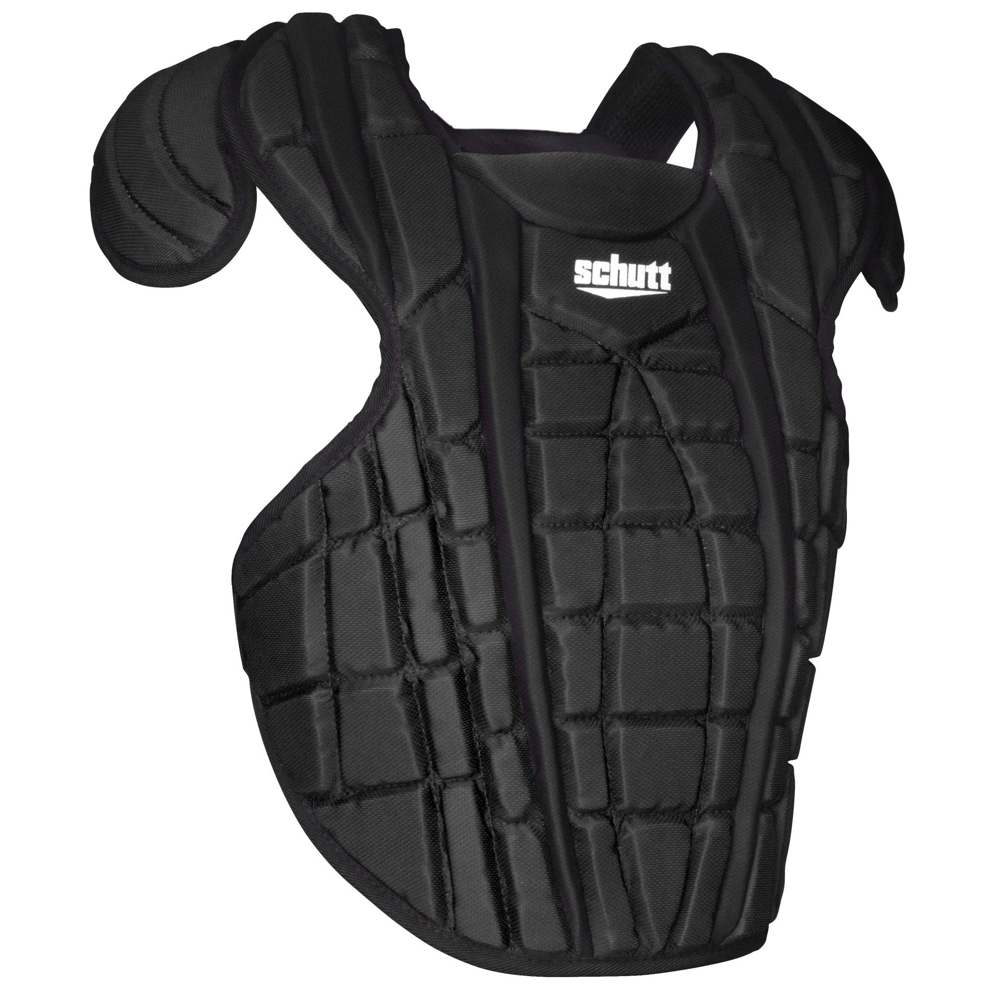 Schutt Sports Scorpion 2.0 Catcher's Chest Protector, Black, 16'' by Schutt