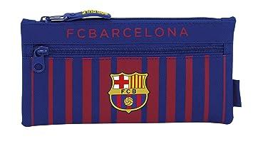 Safta Estuche Doble Cremallera F.C. Barcelona 17/18 Oficial ...