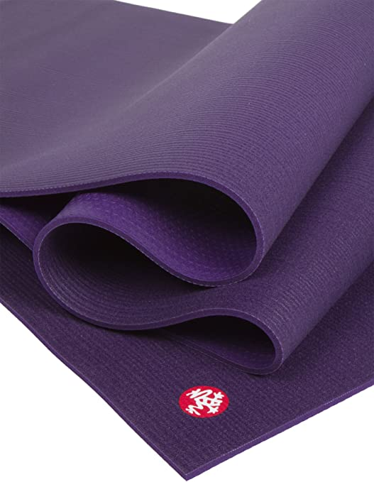 Manduka Unisex Black Mat PRO Extra Long Yoga Mat 85, Black Magic