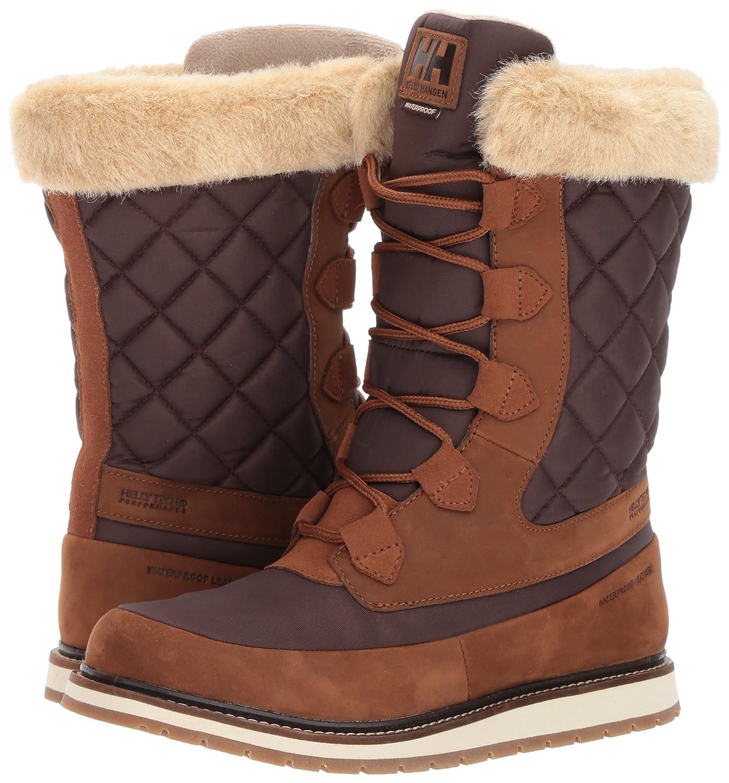 Helly Hansen Women's Arosa HT Winter Boot B06X3Q11VS 9 B(M) US|Whiskey/Coffe Bean/Inc