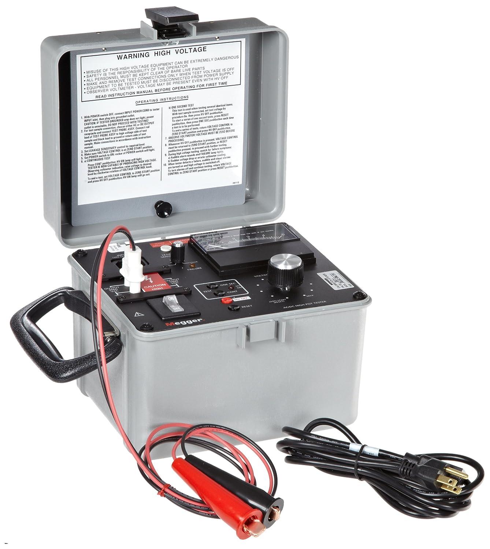 Megger 230425 Ac Dc High Pot Tester 4kv 5kv Dc Test Voltage 12 3ma Current Moisture Meters Amazon Com Industrial Scientific