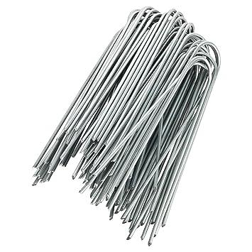 GardenMate® 50 Erdanker VERZINKT aus Stahldraht 150mm lang - 25mm ...