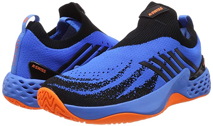 Amazon.com | K-Swiss Mens Aero Knit (Brillant Blue/Neon ...