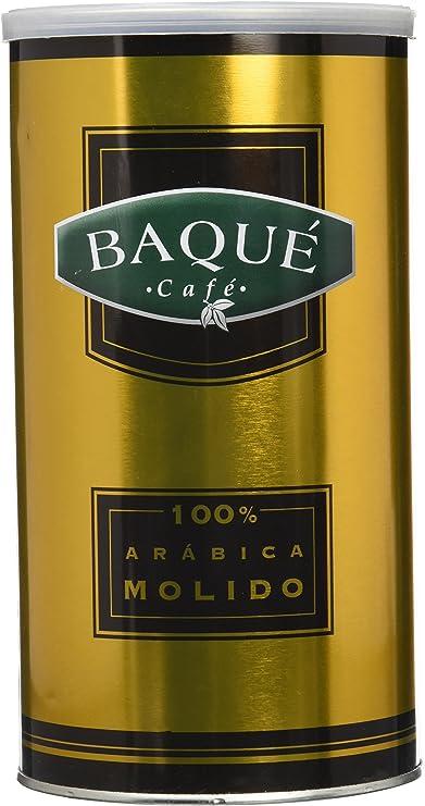 Cafés Baqué - 100% Arábica Molido. Café Molido de Tueste Natural ...