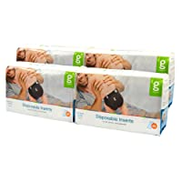 gDiapers Disposable Inserts Case, Newborn/Small (6-14 lbs) ( Pack May Vary )