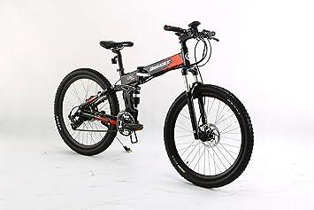 """Bicicleta eléctrica plegable montaña bicicleta batería de 36 V acelerador & Go tecnología 26 """""""