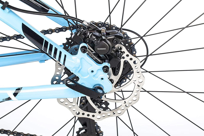 hellblau AFX Unisex Mountainbike 27,5 Zoll Lyon
